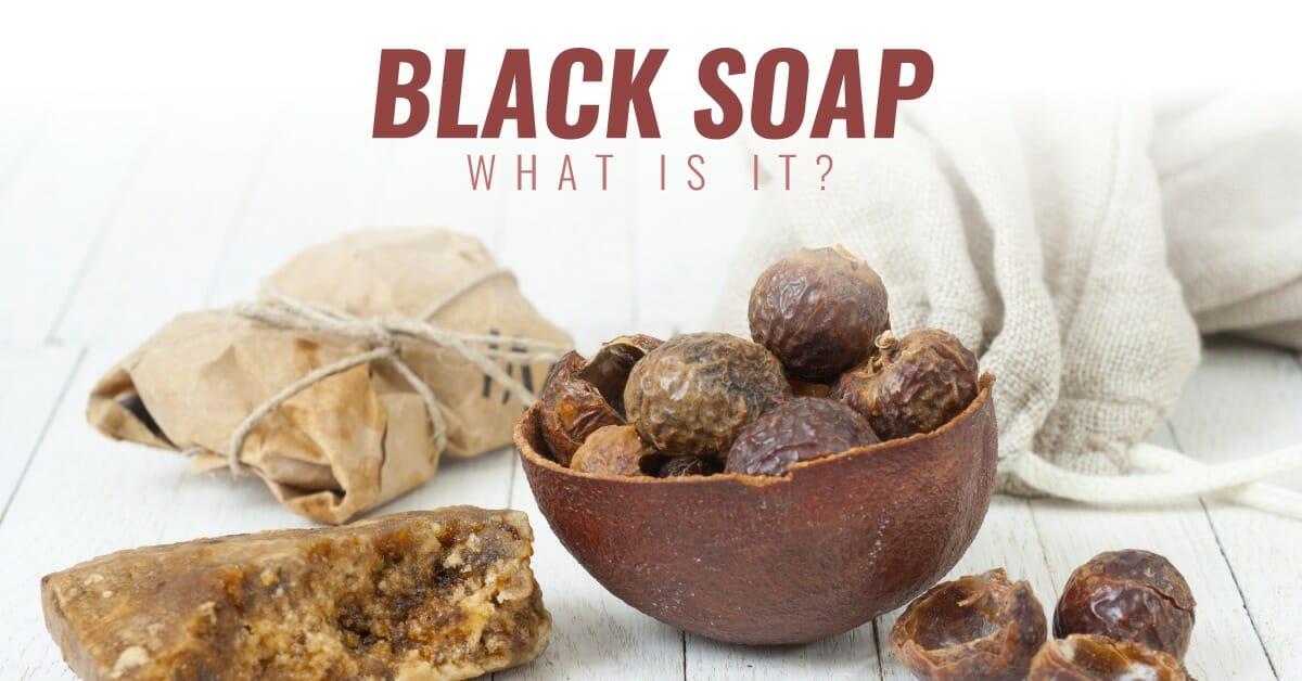 ingredients of black soap