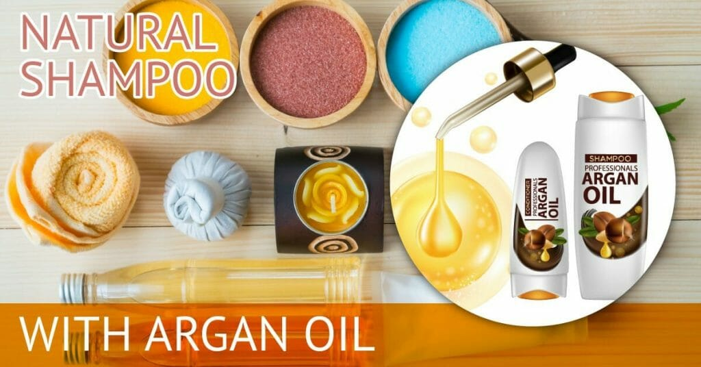 ingredients to make natural shampoo argan oil