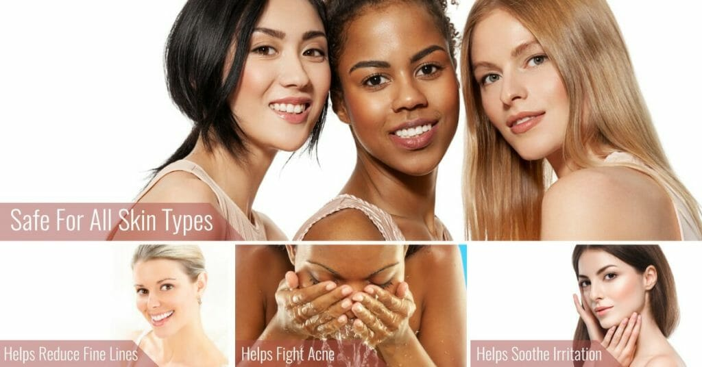 women with different skin tone