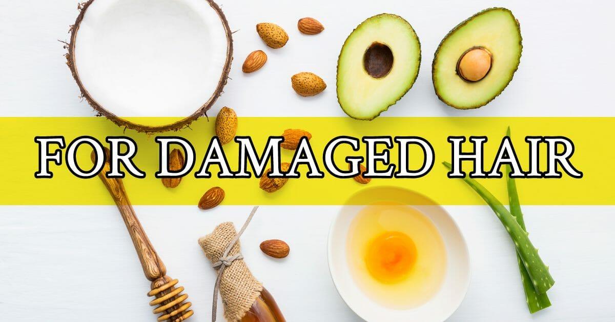 ingredients for hair mask damaged hair