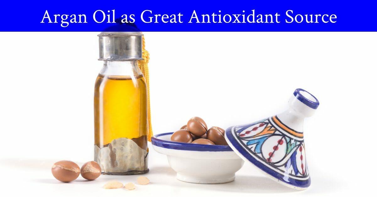 argan oil with antioxidant