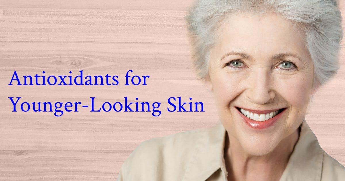 senior woman antiaging