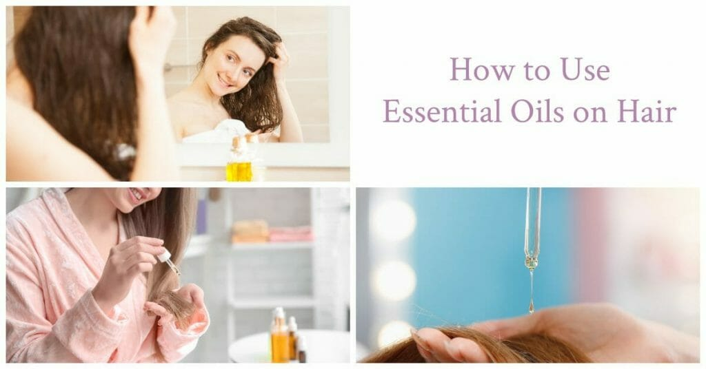 different use of essential oils on hair