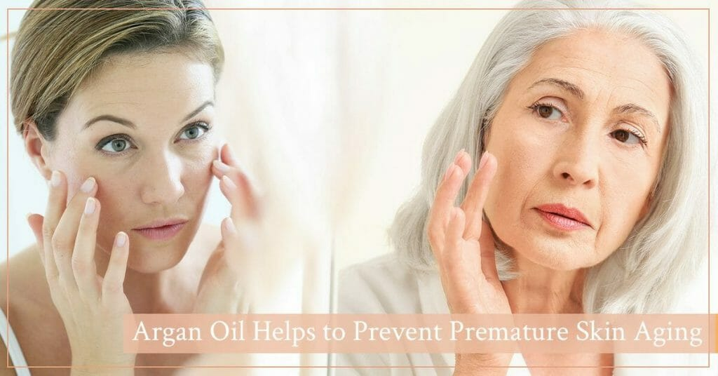 mature women with ageing skin