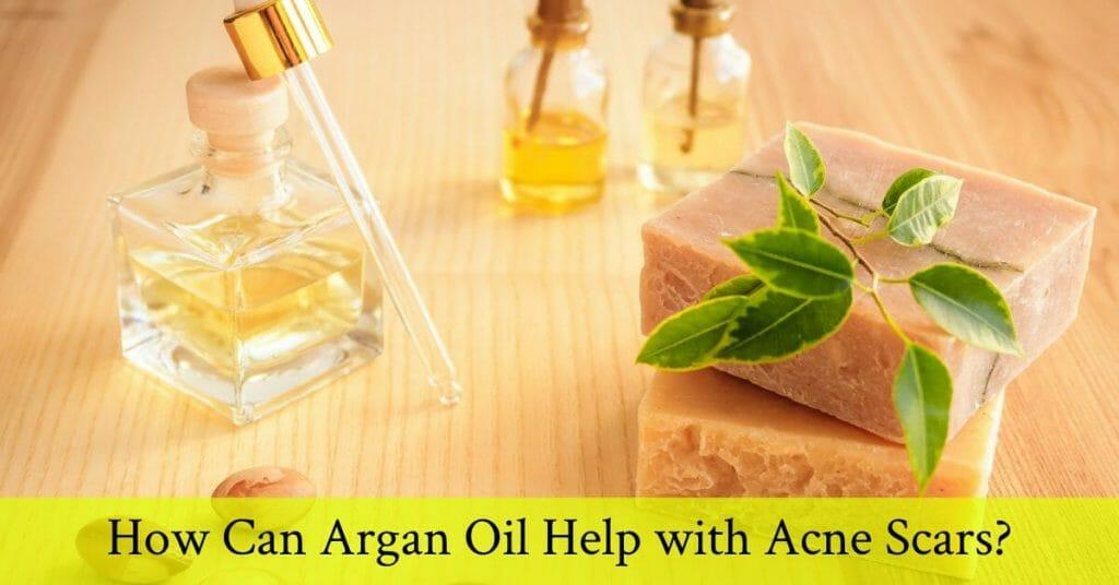 argan oil for acne scars