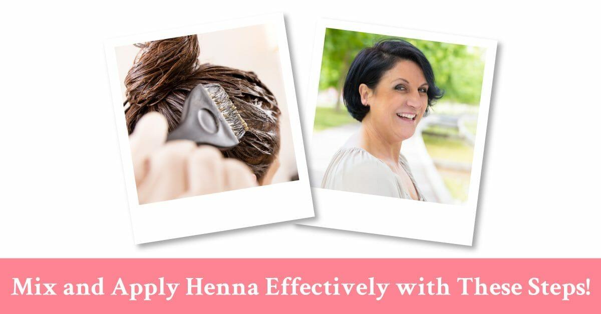 how to apply henna