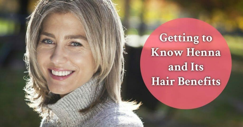 mature woman with greyish hair