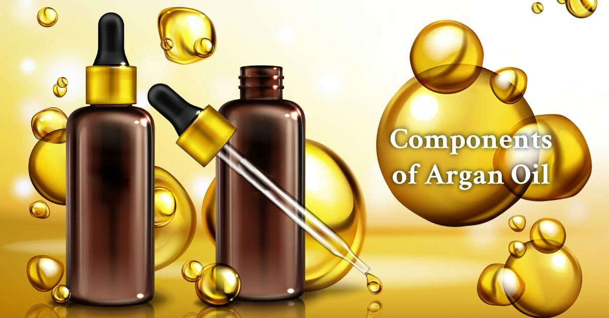 argan oil and dropper