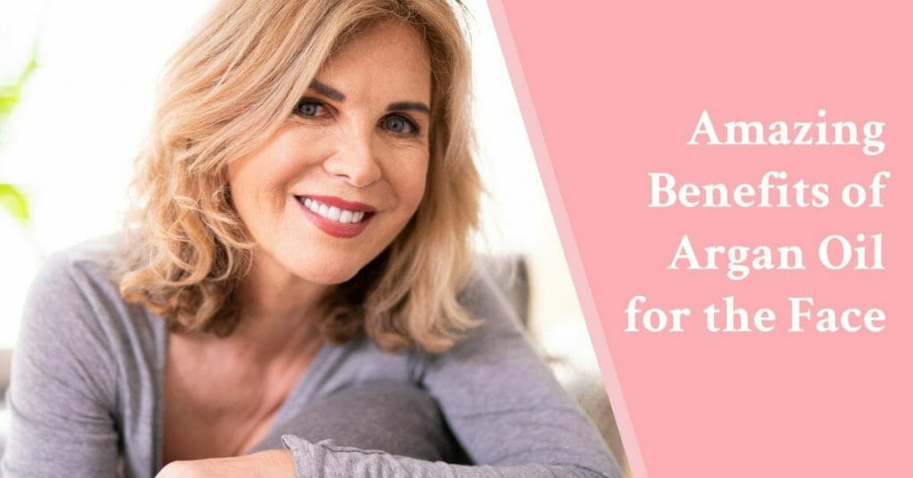 woman smiling benefits face