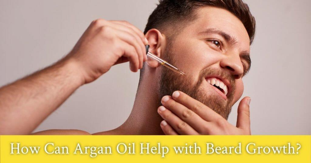 argan oil for beard