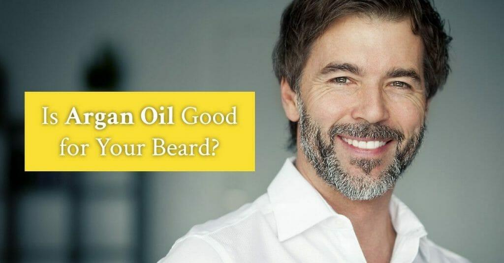 mature man smiling with beard