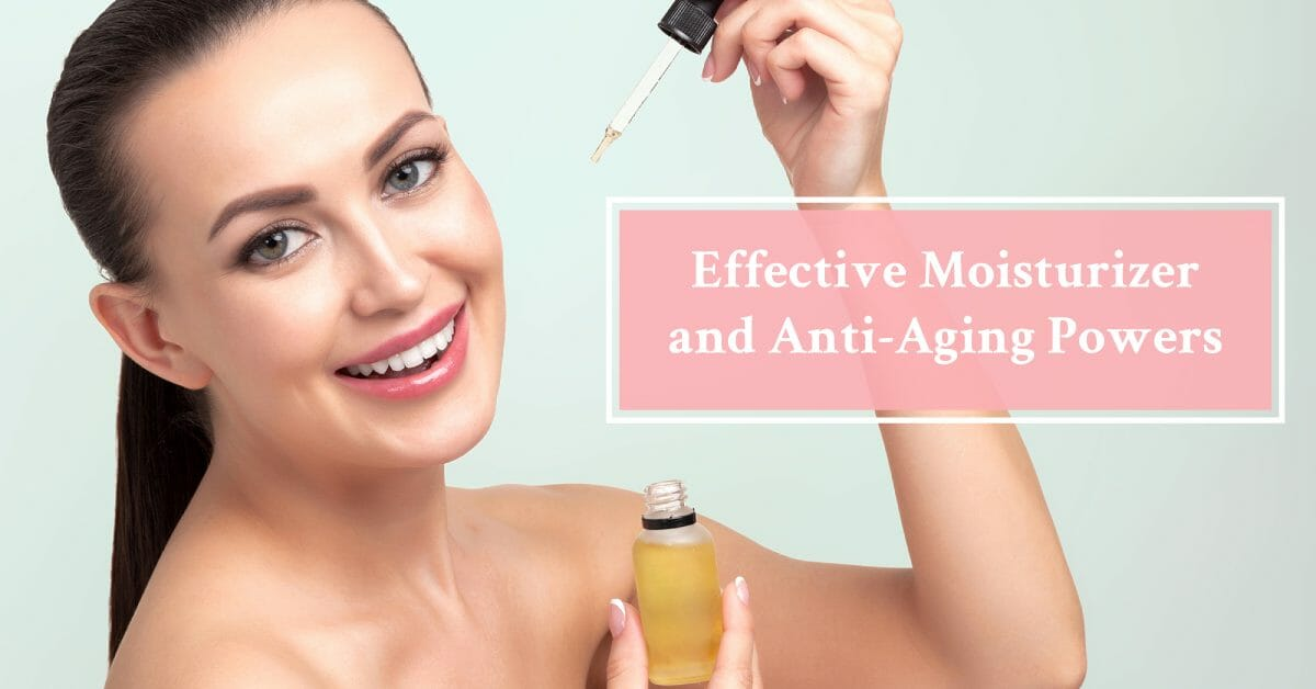argan oil's face benefits