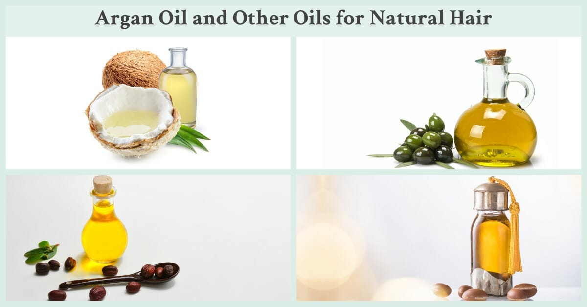 different oils for hair